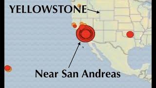 Big Quake ROCKS Southern California - Sends shockwaves through YELLOWSTONE seismos!