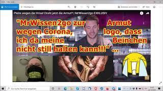 """""""MrWissen2go zur Armut wegen Corona — ich sag was dazu, muss ich"""" ..."""