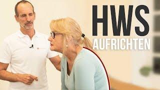 Halswirbelsäule !  Effektive Übungen gegen Geierhals und Brettnacken!   Liebscher & Bracht