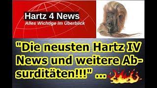 """""""Die neusten Hartz IV News und weitere Absurditäten!!!"""" ..."""