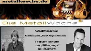 "Thorsten Schulte:  Flüchtlingspolitik - Klartext zum ""Kurs"" Angela Merkels"