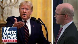 Trump stinksauer auf Reporter von REUTERS wegen Fragen zur Ukraine