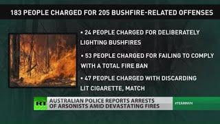 Police: Australian wildfires were deliberate