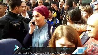 Offenbacher Moslems zeigen ihr wahres Gesicht - Aggressivität auf höchstem Niveau - BPE