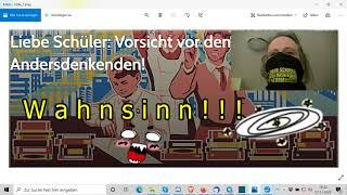"""Liebe Schüler: Vorsicht vor den Andersdenkenden, WAHNSINN!!!"" ..."