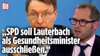 Lauterbach darf nicht Gesundheitsminister werden