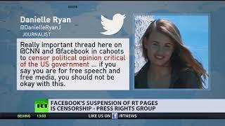 """""""Akt der Zensur"""": Internationale Journalisten-Föderation zur Sperrung von Facebook-Seiten"""