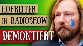 Schulpflicht -  Freitagsdemos -  Hofreiter von Mainstream Journalist demontiert