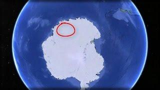 SATELLITE SPOTS MASSIVE OBJECT HIDDEN UNDER THE FROZEN WASTES OF ANTARCTICA
