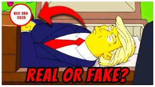 Did the Simpsons Really Predict Trump's death?