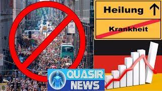Berlin: Demo eine Gefahr, reiches Deutschland, die Krankheit & Heilung
