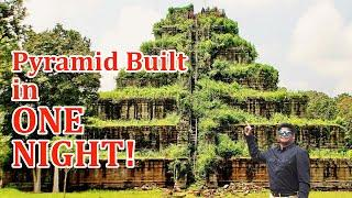 Ancient Pyramid Built in just 12 HOURS? Koh Ker Temple, Cambodia