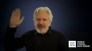 Exclusive Coverage LIVE from the World Data Forum: Julian Assange's Last Communications