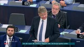 Jörg Meuthen zur Kandidatur Ursula von der Leyens zur EU-Kommissionsspitze am 16.07.19