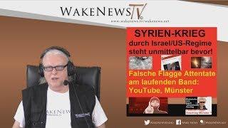 Steht SYRIEN-KRIEG kurz bevor? - Falsche Flagge Attentate am laufenden Band - 20180410