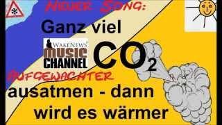 Ganz viel CO2 ausatmen -- dann wird es wärmer