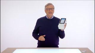 Bill Gates ist wieder da. Und das Thema ist....