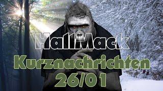 HallMack Kurznachrichten 26/01