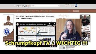 Schrumpfkopf TV / YouTube will nicht kommerzielle Kanale in Bälde löschen ...