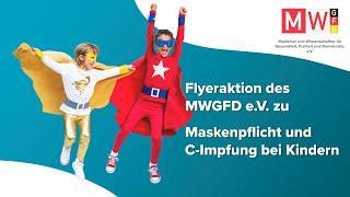 Flyeraktion des MWGFD e.V.- Informationen für Eltern und Schüler