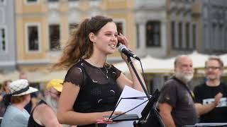 Einschränkungen durch Corona: Schülerin 27 6 2020 Dresden nichtohneuns