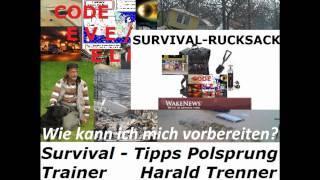 SURVIVAL-Sondersendung Harald Trenner UWS Radio-Marathon Wake News Radio 12.03.2011.wmv