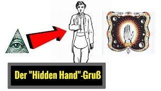 """NWO - Der Freimaurer-Gruß mit der """" versteckten Hand """""""