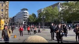 Henryk Stöckl in Frankfurt - Polizeistaat greift zu!