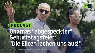 """US-Abgeordnete zu Obamas """"abgespeckter"""" Geburtstagsfeier: """"Die Eliten lachen uns aus!"""""""