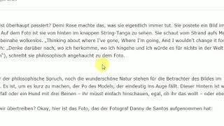 Demi Rose Transvestigation:  alles Fake