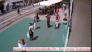 Amokfahrt Graz / Überwachungskamera