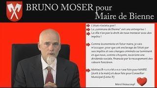 Bruno Moser pour Maire de Bienne 2016