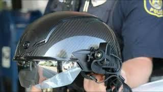 Heads Up! New Smart Police Helmet Scans For Body Temp, Biometrics and Uses Facial Recognition