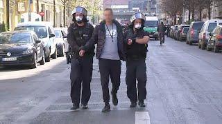 Berlin: Demonstration gegen Einschränkung des Versammlungsrechts aufgelöst