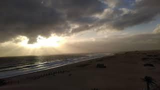 Zeitraffer Sonnenankunft Fuerteventura 16.12.2018, ca. 7:45 Uhr bis ca. 9:10 Uhr