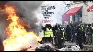 Yellow Vests Rally Hits Paris as Protests Continue for 13th Week