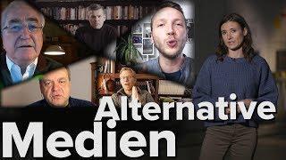 Trotz massiven Gegenwinds: Alternative Medien auf dem Vormarsch