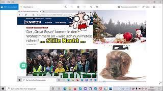 """""""Great Reset, spätestens an Weihnachten, viel Spaß, usw.!!!"""" ..."""