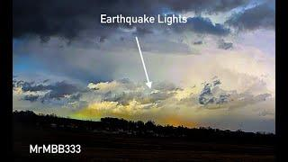 Elusive Earthquake Lights Spotted in Idaho 1 Hour Before 6.5M Earthquake - Dazzling Display