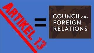 Artikel 13 und der Council  CFR