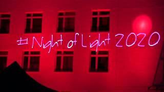 "Sozialismus siegt - Wieso begreift das niemand ?  Aktion ""Night of Light"""