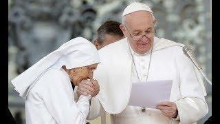 Götzenverehrung - Da zieht der Papst die Hand weg