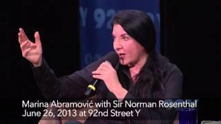 Interview - Marina Abramović with Sir Norman Rosenthal