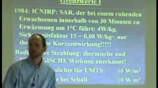 Dr med Joachim Mutter:   Mobilfunk und Gesundheit