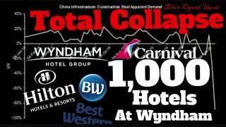 Wyndham Closes 1,000 Hotels, Hilton 150, Best Western 65% In China, Fiat Chrysler Halts Production!