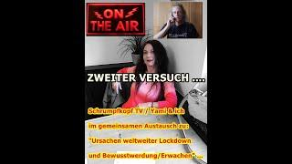 """Trailer: Schrumpfkopf TV / """"Yami & ich im gemeinsamen Austausch zum Corona-Wahn!"""" ..."""