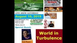 The World In Turbulence - UNITEDWESTART Roundtable Discussion August 10, 2019