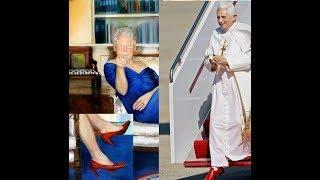 Rote Schuhe, ein Zeichen der Kinderschänder ?