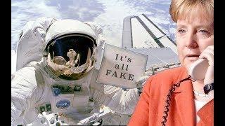 """Merkel stellt Astronauten eine wirklich """"wichtige Frage""""... und erhält """"weltbewegende"""" Information!"""