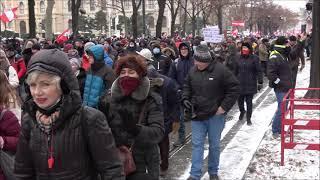 Demo Wien - 16.01.21 -  Demozug
